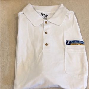 NWOT Royal Caribbean Polo